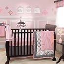 Lambs & Ivy 527009V Duchess Crib Bedding Set, 9-Piece