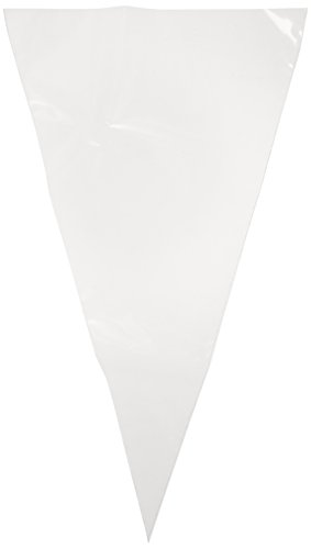 Ateco 468 Clear Disposable Decorating Bags, 18-Inch, Pack of 10, Extra Strong, Made in USA ()