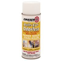 Zinsser Odorless Oil-Base Stain Blocker Spray, White 13 Oz. Can