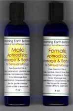 Aphrodisiaque - Huile de massage Homme Blend par SomaTherapy - Prêt à l'emploi 8 oz