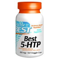 Doctor's Best, Best 5-HTP, 100 mg, 180 Veggie Caps by Doctors Best