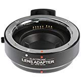 Fotga Auto Focus EF to Micro 4/3 Lens Mount Adapter Built-in IS for Canon EOS EF/EF-S to Micro Four Thirds M4/3 Mount MFT Cameras for Olympus PEN E-P1 P2 P3 P5 E-PL1 Panasonic GH2 GH3 GH4 GH5 GH5s