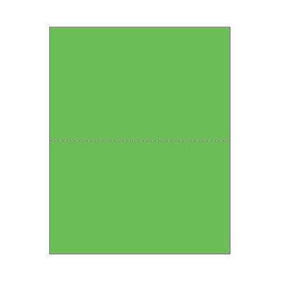 (Print On Demand Jumbo Bright Color Blank Postcards - Sonic Green (500 sheets/1000 postcards))