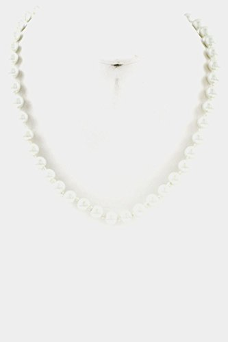 Karmas Canvas 8mm Pearl Necklace - To Dior Where Buy