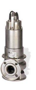 EBARA 50DWXU61.52 DOMINATOR Manual Sewage Pump, 2HP, 3 x 230