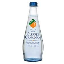 Clearly Canadian Orchard Peach Sparkling Water (Pack of 2)