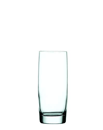 Nachtmann 92041 Vivendi Long Drink Glass, Set of 4, Clear