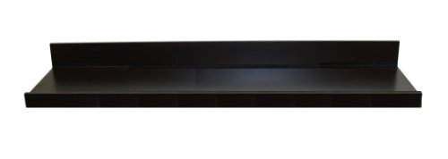 InPlace Shelving 9481128 42-Inch Wide Manhattan Floating Wall Shelf, Espresso