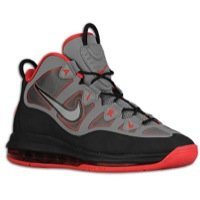 (NIKE Air Max Uptempo Fuse 360 Mens Basketball Shoes 555103-002 Cool Grey 8 M)