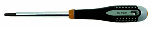 BAHCO BE-9001 8 Inch Ergo Robertson Screwdriver with Tip Size 1 (Robertson Screwdriver Sizes)