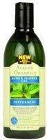 Avalon Peppermint Bath & Shower Gel (1X12 Oz)- 1 Pack (Peppermint Bath Organics Avalon)