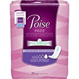 Poise Pads Ultimate 33592 - 4 Packs of 33 (Case of 132) by Kimberly-Clark