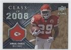 Jamaal Charles #69/99 (Football Card) 2008 Upper Deck Icons - Class of 2008 - Rainbow Gold #CO18