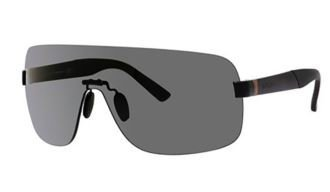 Gucci Sunglasses - 2257 / Frame: Semi Matte Black Lens: - Gucci Wrap Sunglasses