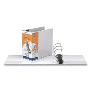 Stride QuickFit PRO Heavy Duty Storage D-Ring View Binder, 6 Inch Cap, 11 x 8 1/2, White (3 Units) by Stride