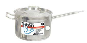 Adcraft Sauce Pan S/S 2 Qt W/Cover, Model# SPS-2