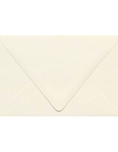 A4 Contour Flap Envelopes (4 1/4 x 6 1/4) - Natural - 100% Recycled (50 Qty) | Perfect for Invitations, Announcements, Sending Cards, 4x6 Photos | 1872-NPC-50 ()