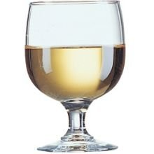 Arcoroc Amelia Fully Tempered Stacking Goblet Glass, 6 1/2 Ounce -- 48 per case. (Fully Tempered Arcoroc Glass)