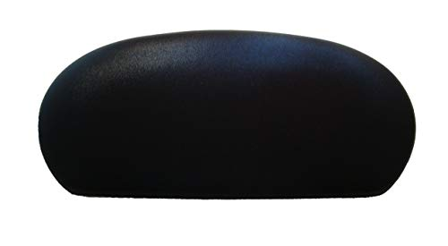 - Special Shiny Edition of Fabric Cover for a lid Toilet Tank - Handmade in USA (Bright Black)