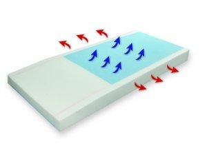 Proactive Medical 81052 Protekt 500 Gel Infused Foam Pressure Redistribution Mattress