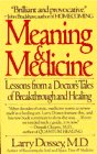 Cover of Meaning and Medicine