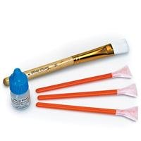 Visible Dust Mini Dry and Wet Sensor Cleaning Kit with Orange 1.3x & 16mm Sensor Brush