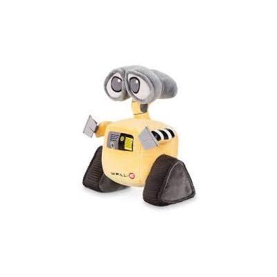 5Star-TD Disney Pixar Wall-E Movie Exclusive 7 Inch Mini Bean Plush Wall-E: Toys & Games