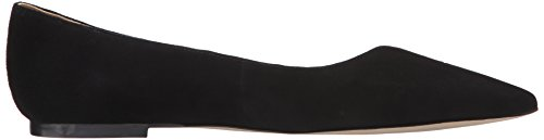 Sam Edelman Mujer Ruby Pointed Toe plana Black Suede