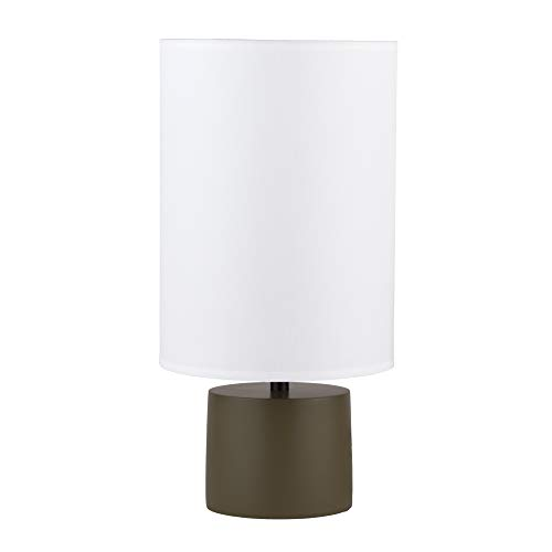 - Lights Up! 270OL-TLN Devo Round Lamp Table Ceramic