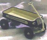 1935 American Air Flow Coaster Hallmark Kiddie Car Classics Sidewalk Crusiers LE QHG6310