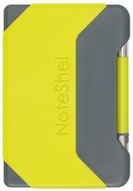 NoteShel Portable sticky note holder with pen ( Fresh Green)