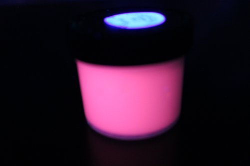 RED UV Reactive Daytime Invisible Neon Rave Paint 4oz