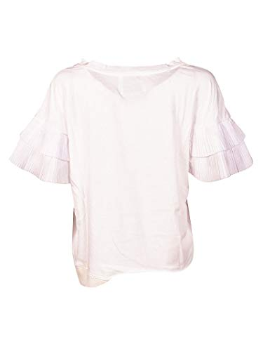 Bianco 43530155 Donna shirt T Brand Cotone Unique UnqZOxURY