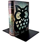 "7"" Inches Tall - Owls Metal Bookends - BIG Cute Lightweight Baby Owls"