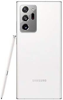 Samsung Galaxy Note20 Ultra (N9860) 256GB 12GB RAM Factory Unlocked (GSM Only | No CDMA - not Compatible with Verizon/Sprint) International Version - Mystic White WeeklyReviewer