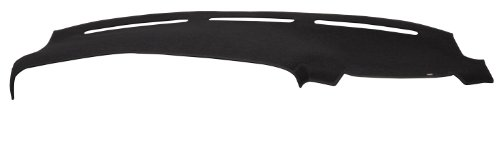 DashMat 1935-01-25 Original Dashboard Cover for Dodge Grand Caravan - (Premium Carpet, Black)