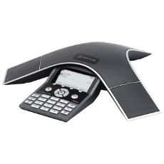 Polycom SoundStation IP 7000 SIP VoIP Conference Phone with AC Power Adapter, IEEE 802.3af Power over Ethernet by Polycom