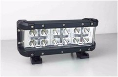 Offroad-Light-Bar-75-66W-Red-Color-6600-Lumens-Automotive-Spot-Beam-Work-Light-Adjustable-Mounting-Brackets