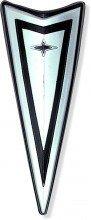 67-68 Front Bumper Arrowhead Logo Emblem