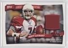 Matt Leinart (Football Card) 2010 Topps - Peak Performance - Relics #PPR-ML