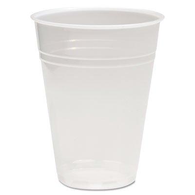 10 Ounce Translucent Cup - Translucent Plastic Hot/Cold Cups, 10oz, 1000/Carton