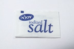 N'JOY Iodized Salt - 1,200 ct. .5 gm Packets ()