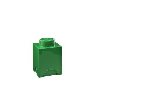 LEGO Storage Brick Dark Green