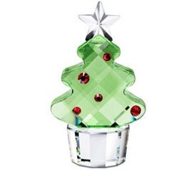 - Swarovski Crystal Figurine CHRISTMAS TREE MEDIUM FELIX THE TREE #5103225