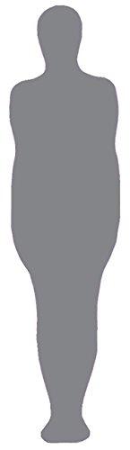 VSVO Unisex Mummy Zentai Spandex Cocoon Zentai (Medium, Grey)