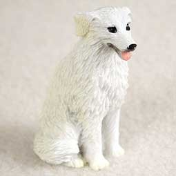 Kuvasz Miniature Dog Figurine