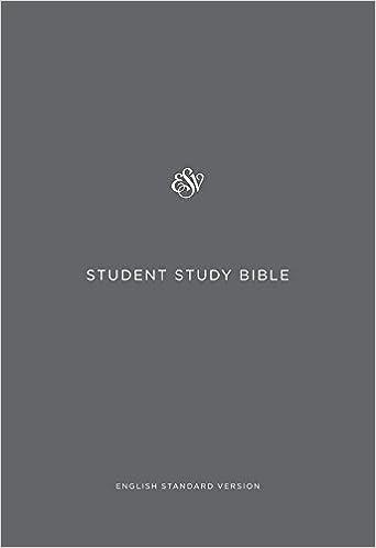 ESV Study Bible: English Standard Version: Crossway Books