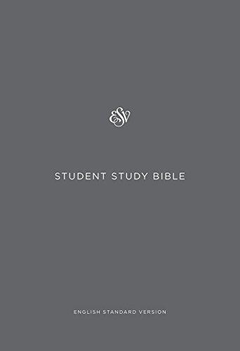 ESV Student Study Bible