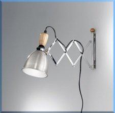 LAMPADA DA PARETE ESTENSIBILE - A.5664 -: Amazon.it: Illuminazione