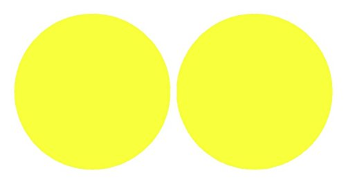 SlickMod Precut Vinyl Tint Cover for 2008-2014 Subaru Impreza WRX Foglights (Yellow)